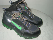 2012 Men Nike Air Max Terra Sertig Black/Anthracite/Medium Violet Shoes! Size 11