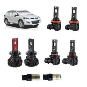 For Mazda CX7 2006-2010 High Low Fog Reverse LED Lights Conversion Kit