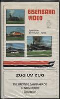 """VHS-Eisenbahn Video: ZUG UM ZUG """"DIE GROSSE BAHNPARADE IN STRASSHOF"""" Österreich"""