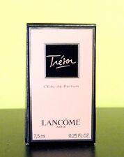 LANCOME TRESOR  7.5 ML(.25 0Z) L'EAU DE PARFUM BOXED WITH CUTE ORGANZA BAG