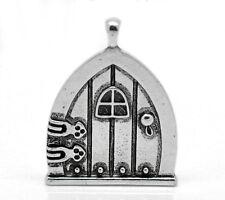 10 Novità HOT Charm Ciondoli Porta di Fata Argento antico 3.5x2.7cm