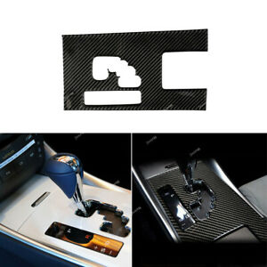 Real Carbon Fiber Gear Shift Box Panel Cover Trim For Lexus IS250 300 350 06-12