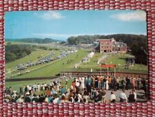 1 x Goodwood Racecourse postcard 1972 Chichester Festival Theatre postmark