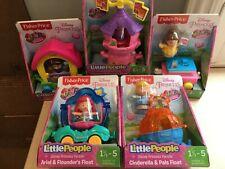Little People Disney Princess Parade Float Train ARIEL BELLE CINDERELLA RAPUNZEL