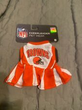 NFL Cleveland Browns CHEERLEADER Jersey Size XS Extra Small For Dogs and Cats