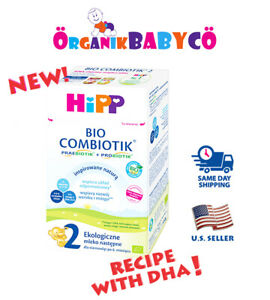 HiPP Stage 2 ORGANIC COMBIOTIC Baby Formula FROM 6 MONTHS - 550g FREE Shipping!!