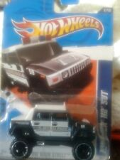 Hot Wheels Hummer H2 SUT HW Main Street El Segundo Police! Black