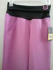 Womens Wonderwink 4 Stretch Scrub Pants Fold Over Waist Size XS