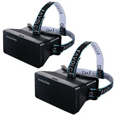 VR Virtual Reality Headset 3D Video Glasses For iPhone 7 6S Plus 5S Samsung S6