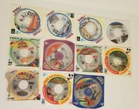 Lot Of 11 Vintage General Mills PC Games Sorry! Clue Boogle Rollercoster 2