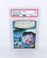 1995 Ultra X-Men Huners & Stalkers Silver #1 Apocalypse PSA NM 7