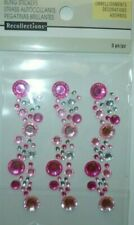 "NEW ITEM  RECOLLECTIONS ""PINK & CLEAR FLOURISH"" BLING"