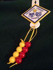CUB SCOUTS PROGRESS TOWARD RANKS (w/8 Beads) - FOB PATCH - BSA