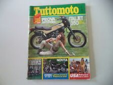 TUTTOMOTO 7/1982 YAMAHA SR 500/KTM/ITALJET ROAD MASTER/BMW TROIKA/FANTIC RSX 125