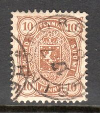 Finland - 1875 Def. Coat of Arms Mi. 15Byb FU (Perf. 12,5)  c