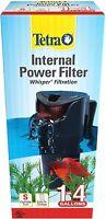 Tetra Whisper Internal Power Filter 1-4 Gallons 27-GPH Pump Aquarium Fish Tank