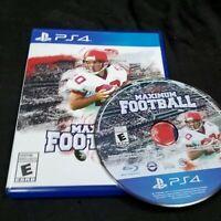 Maximum Football 2019 PlayStation 4 Doug Flutie's College PS4