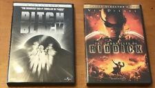 Pitch Black & The Chronicles of Riddick Dvd Bundle Vin Diesel