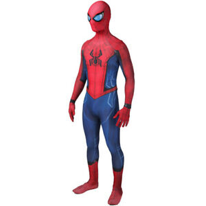 2020 Homecoming Spiderman Jumpsuit Spider-Man Cosplay Costume For Adult & Kids