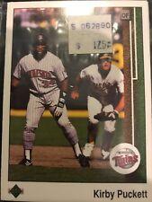 1989 Minnesota Twins Uper Deck Team Set. Kirby Pucket