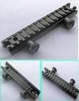 13 Slots See-Thru 1/2 inch Riser Base Picatinny Weaver Rail Rifle Scope Mount
