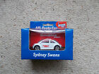AFL 2001 LIMITED EDITION VW BEETLE CAR SYDNEY SWANS , NEW IN BOX