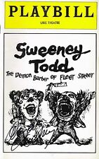 Angela Lansbury SIGNED Sweeney Todd Playbill COA