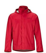 Men's Marmot PreCip Eco Jacket Team Red Size L