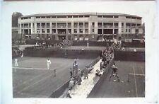 WIMBLEDON TRIM 1922 ACTION TENNIS POSTCARD THE OUTSIDE & CENTRE COURTS