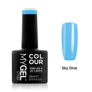 Mylee MYGEL Blue Collection UV LED Soak-Off Gel Nail Polish Colour Manicure 10ml