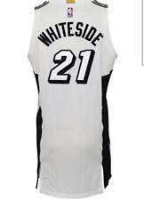 Miami Heat Game Used/ Worn Hassan Whiteside Jersey