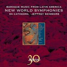 Baroque Music from Latin America: New World Symphonies  CD NEW
