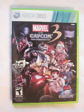 Marvel vs Capcom 3 Fate of Two Worlds (Microsoft Xbox 360) Complete Vr Nice!
