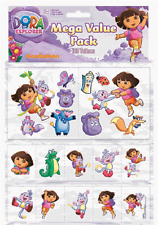 Dora The Explorer Tattoo Value Pack 120 pc Birthday Party Favors /Supplies