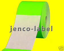 FR3500G, 500 3x5 Green Fluorescent Color Code Label