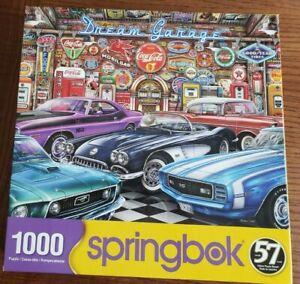 """DREAM GARAGE"" - 1000 PC JIGSAW BY SPRINGBOK"