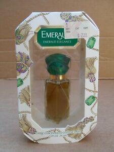 Vintage Emeraude Emerald Elegance 1Oz Cologne Spray Perfume Bottle Unused in Box