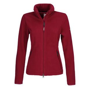 PIKEUR Classic Sportswear Damen-Fleecejacke Liva, Farbe pomegranate - Gr. 38