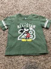 Disney Parks Mickey Mouse All Star Boys T-shirt Size 2T