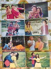 Lot 17 Rare Bollywood Madhuri Dixit Rishi Kapoor Postcard Postcards Post Card P8