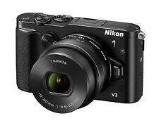 Spiegellose Systemkamera NIKON 1 V3, 18.4MP Schwarz Kit mit Nikkor PD-Zoom 10-30
