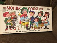 Vintage 1971 The Mother Goose Game Board Game Cadaco Storybook Game
