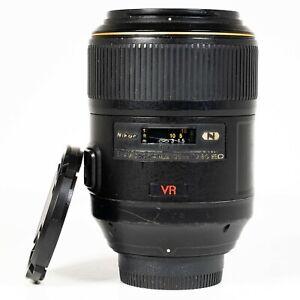 Nikon AF-S 105mm f/2.8 G IF-ED VR Micro Macro Lens