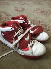 d7d97b27a81 Mens Nike Zoom Soldier IV TB Lebron 407630 105 Sz 13 Red White Shoes  Basketball