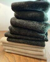 Reclaimed Vintage Heavy Blanket Wool Pieces - Hook Rugs & Crafts 1 lb 4 oz