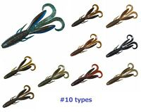 DAIWA soft bait STEEZ HOG worm lure 8pcs SET black bass fishing 10types