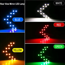 2x Car Turn Signal Light Side Rear-view Mirror Hidden LED Arrow Lamp Accessories