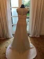 Beautiful Brand new Ivory Wedding Dress. David's bridal (jewel) size 12