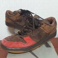 Nike Dunk Low Pro SB Bison SB Cinder  Brown red US7