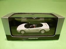 KYOSHO 03322W HONDA NSX TYPE R  - WHITE 1:43 - NEAR MINT IN BOX